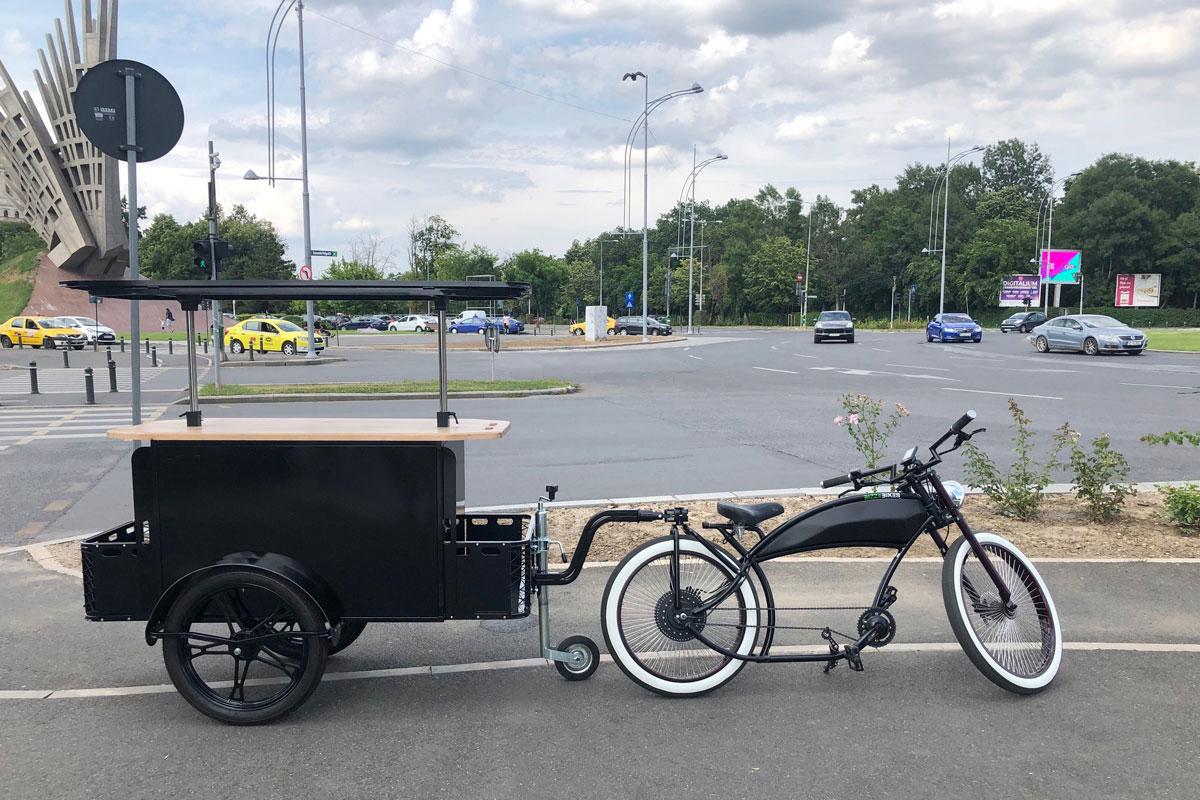 Street vending bike by BizzOnWheels
