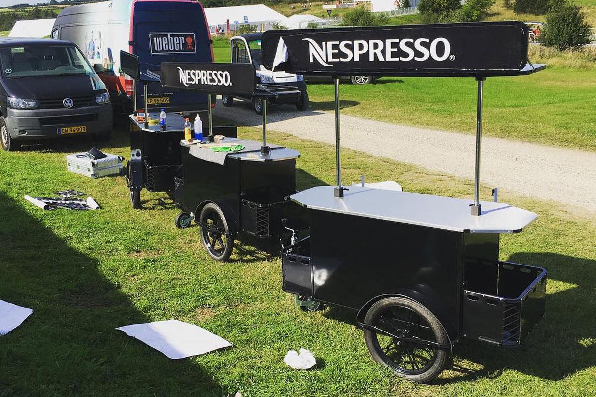 Basic vending cart for street vending by BizzOnWheels
