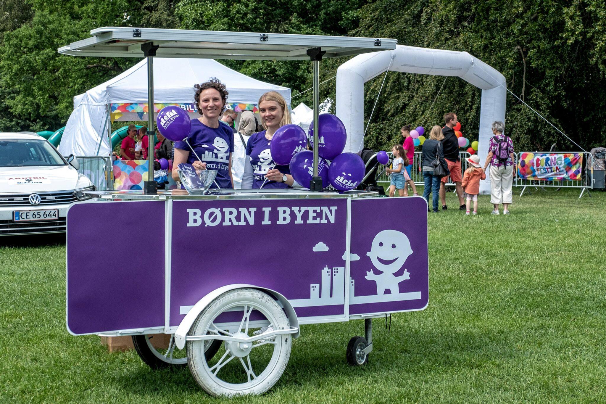 Ice cream cart for Born I Byen