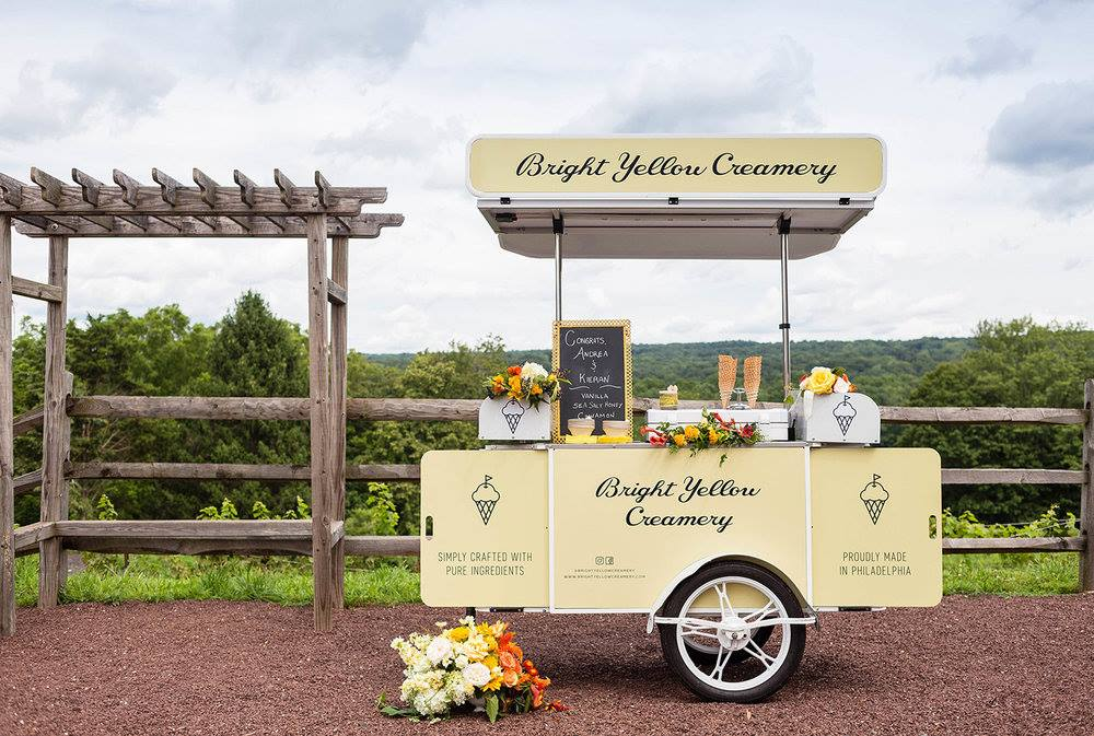 Ice cream cart manufactured by Bizz On Wheels