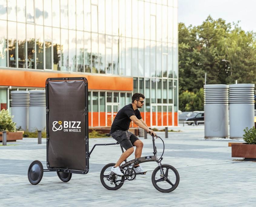 AdBicy advertising bike for sale