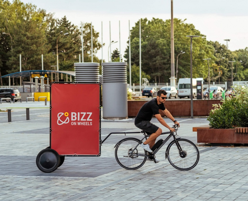 AdBicy M bicycle billboard and adbike for sale