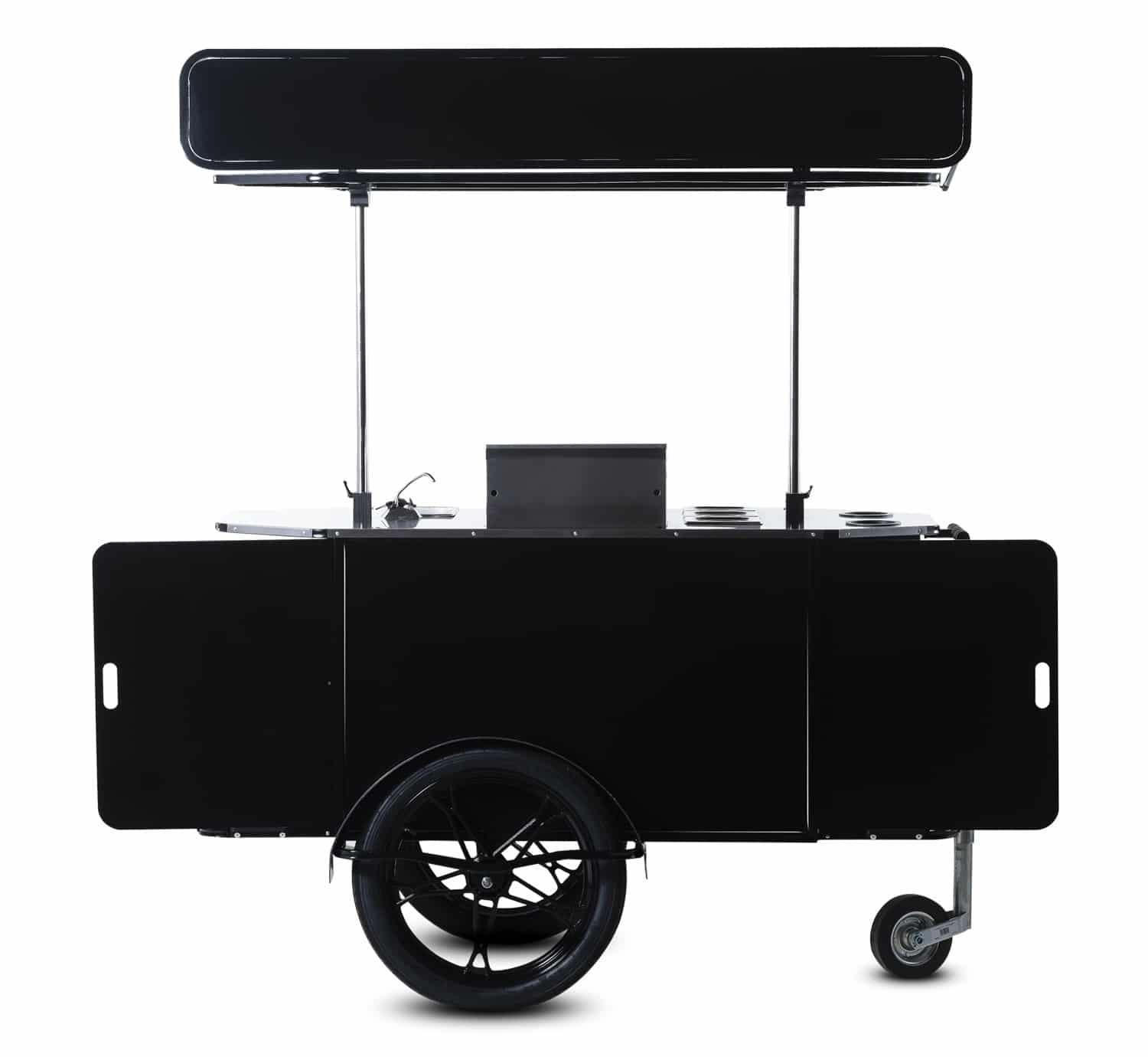 BBQ & Grill cart manufactured by Bizz On Wheels