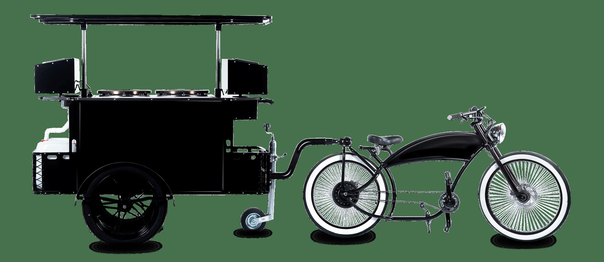 Crepe bike by Bizz On Wheels