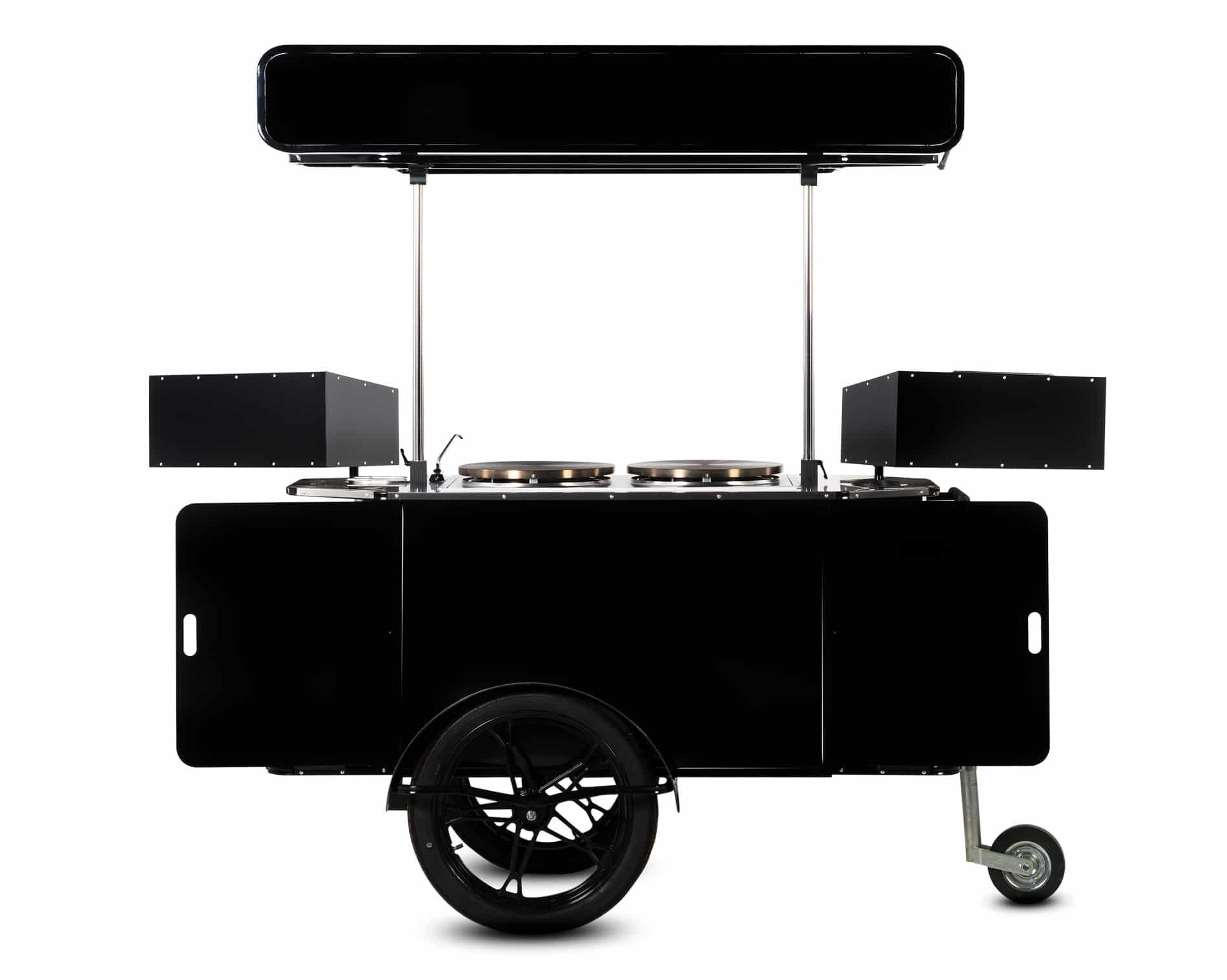 Crepe cart manufactured by Bizz On Wheels