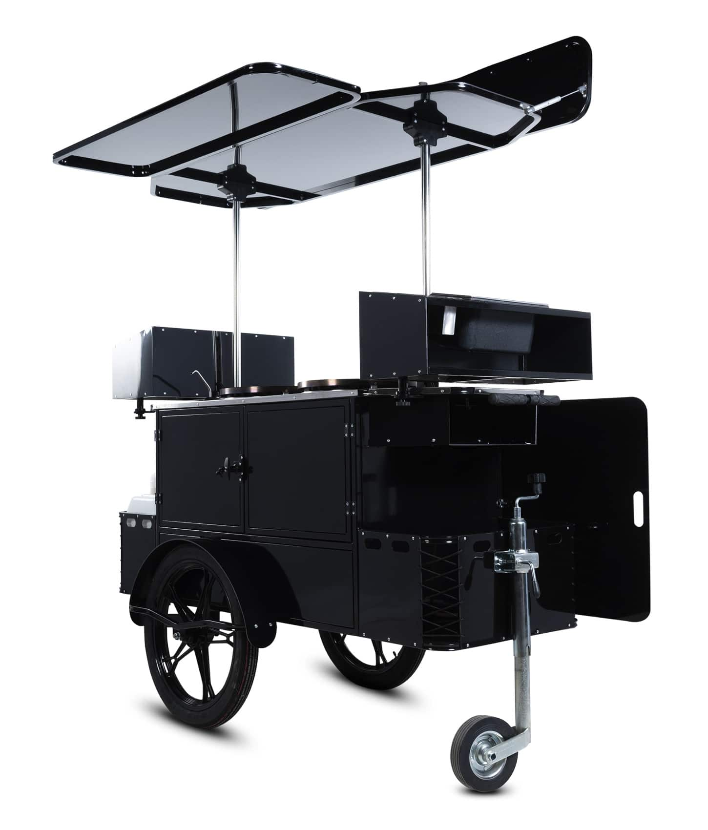 Bizz On Wheels crepe cart perspective view