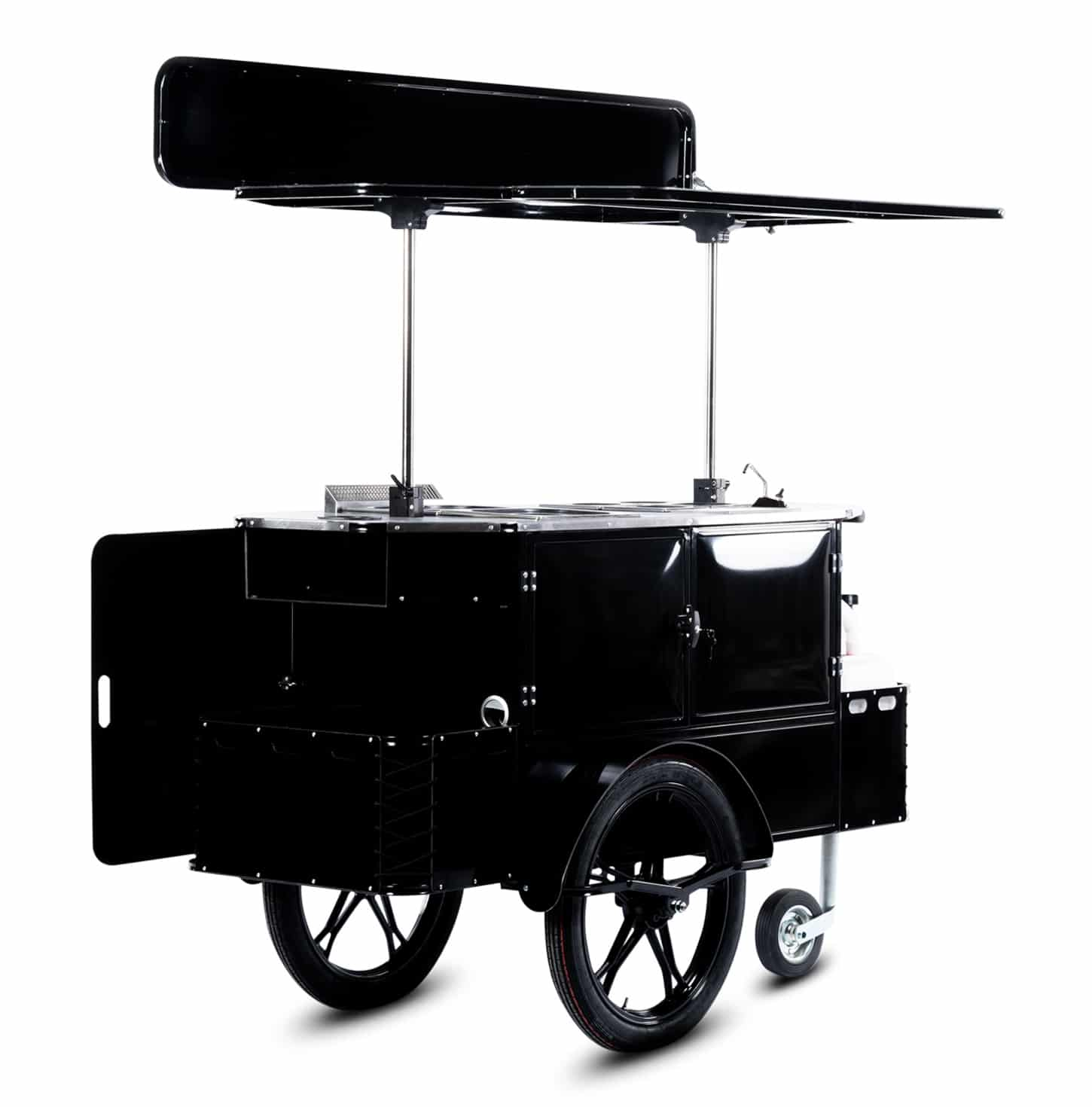 Bizz On Wheels hot dog cart