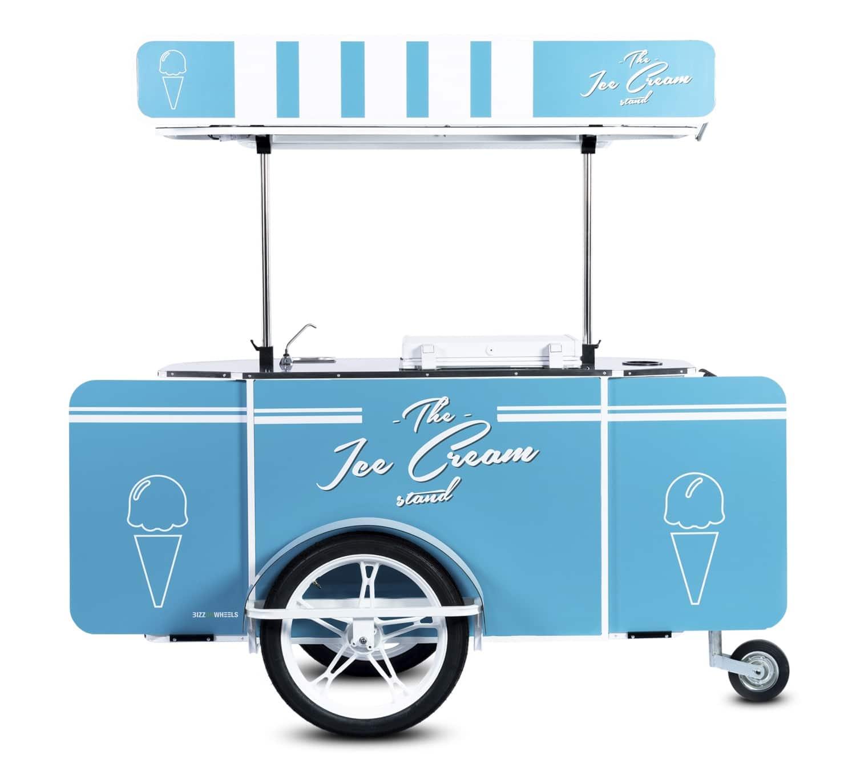 Ice cream cart by BizzOnWheels
