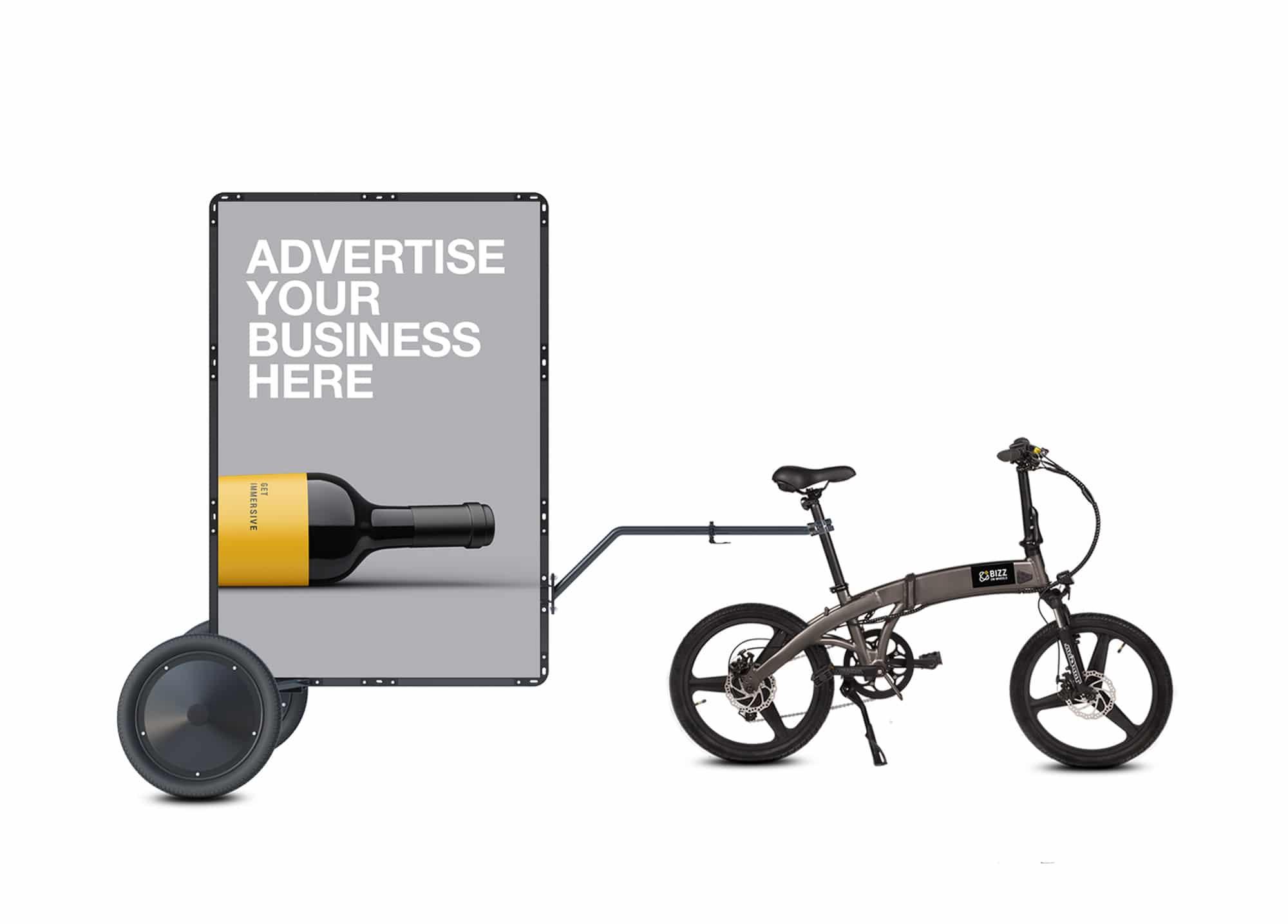 New AdBicy M mobile billboard