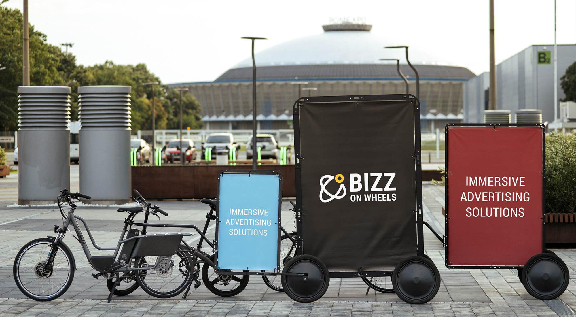 AdBicy mobile and bike billboards