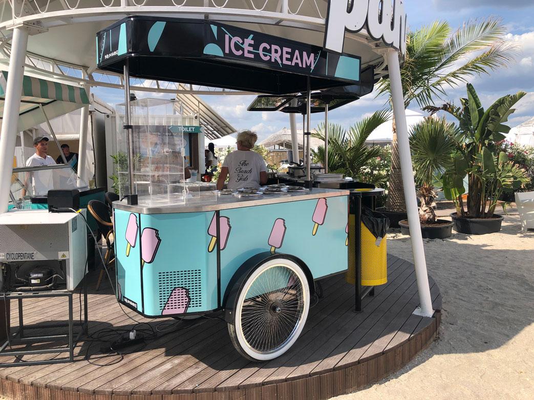 BizzOnWheels Pozzetti gelato cart