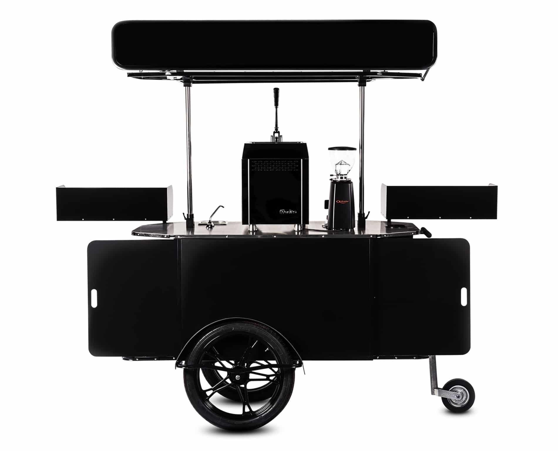 Premium coffee cart made by Bizz On Wheels