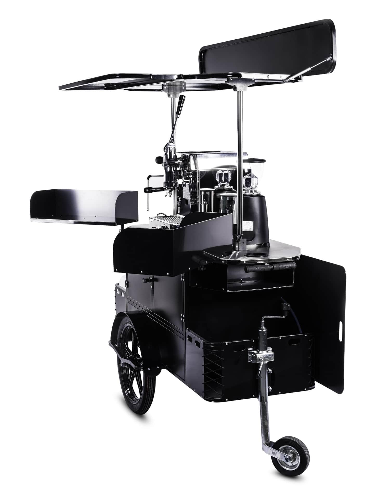 Bizz On Wheels premium coffee cart