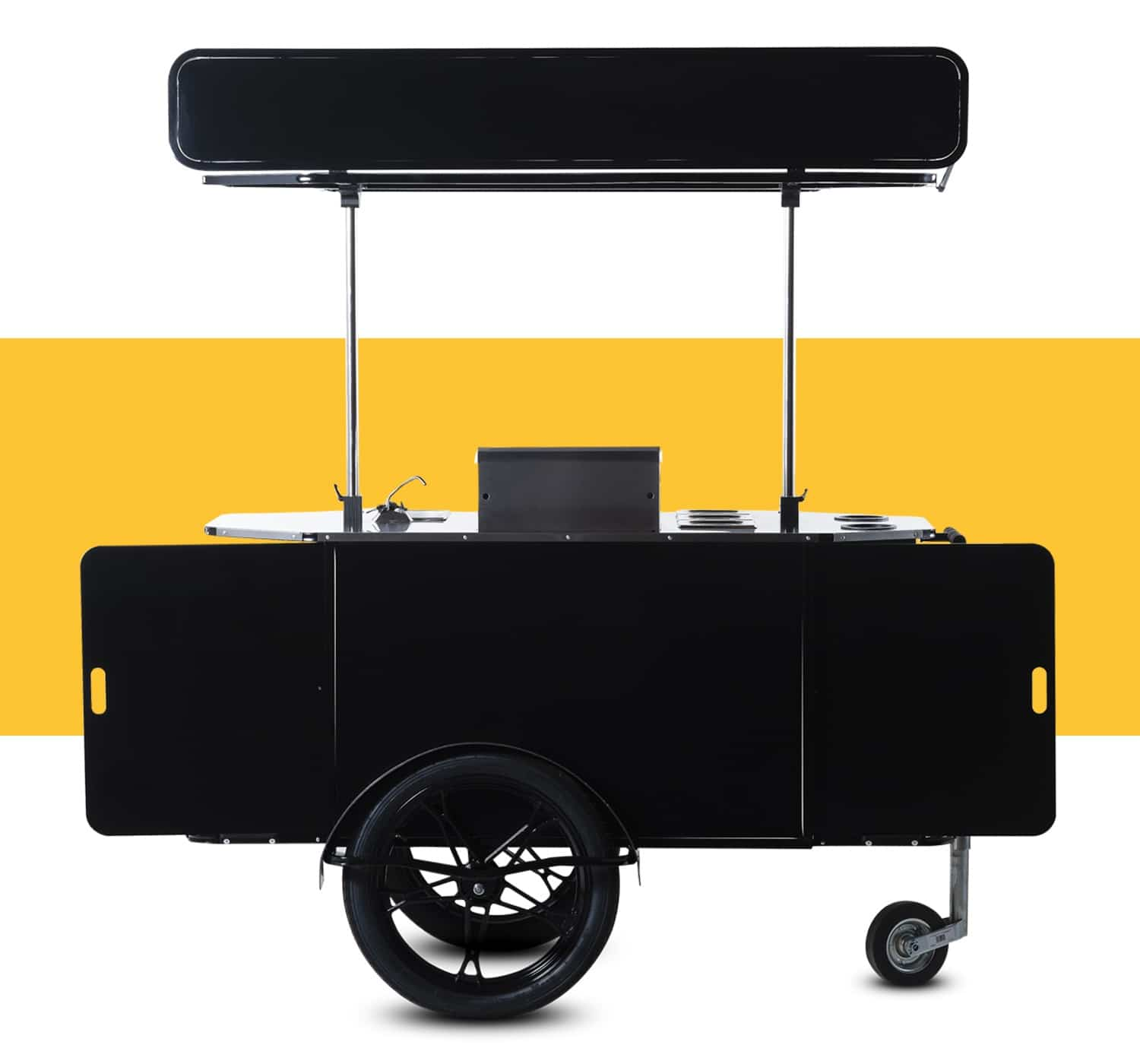 Burger cart for sale by Bizz On Wheels