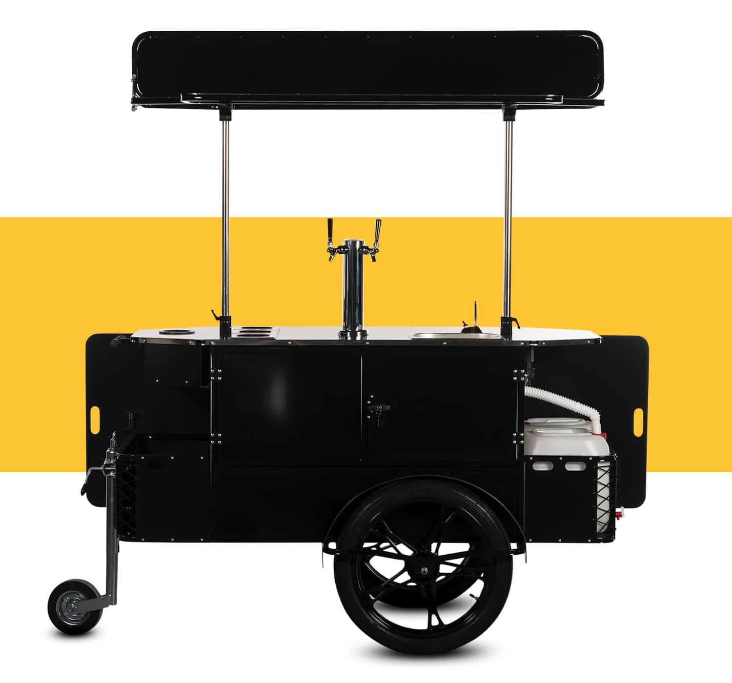 Beverage cart for sale by Bizz On Wheels