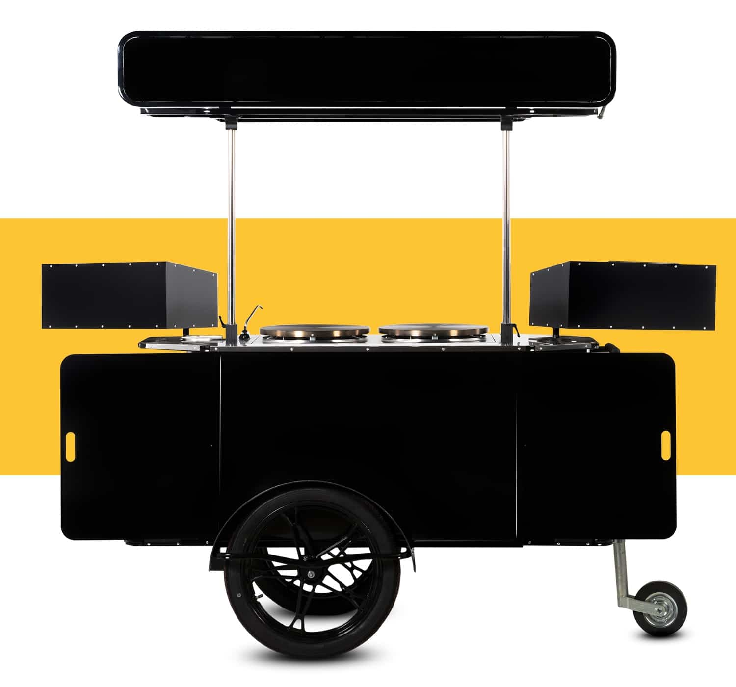 Crepe cart for sale by Bizz On Wheels