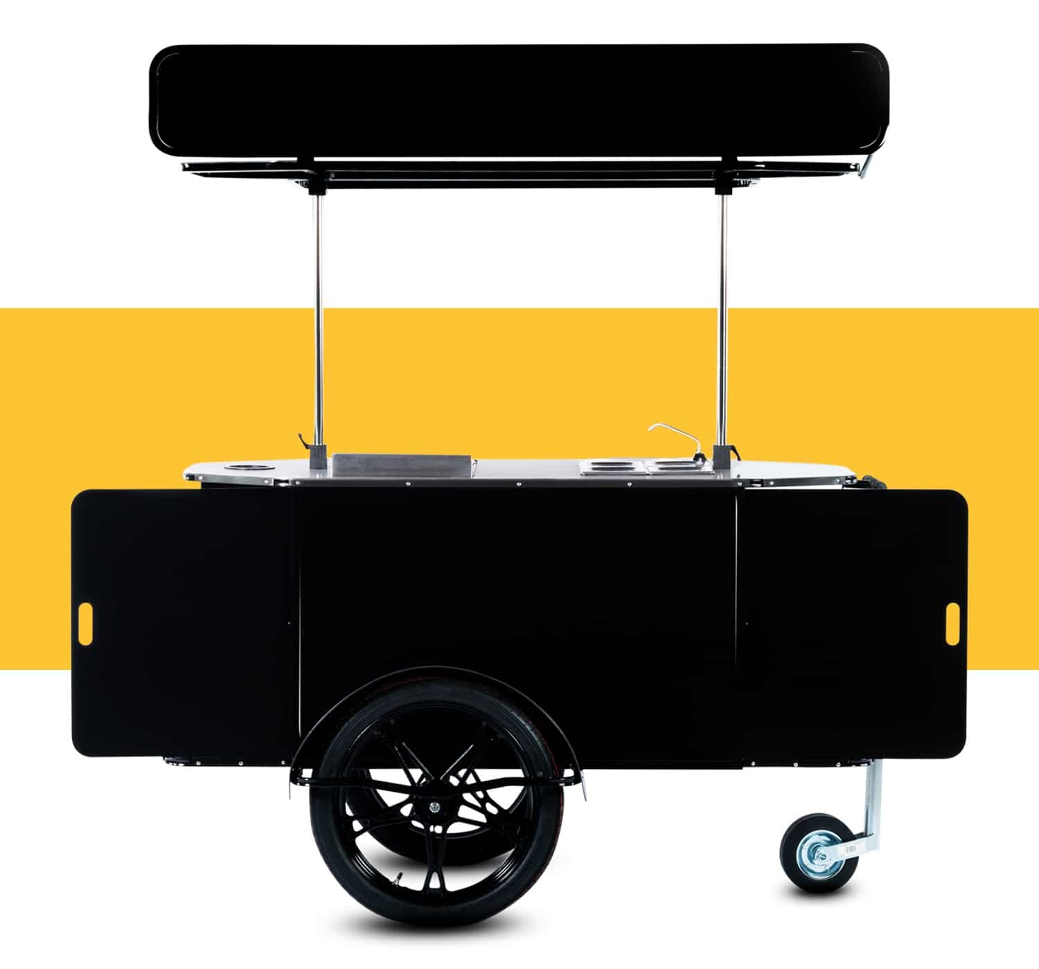 Hot dog cart for sale by Bizz On Wheels