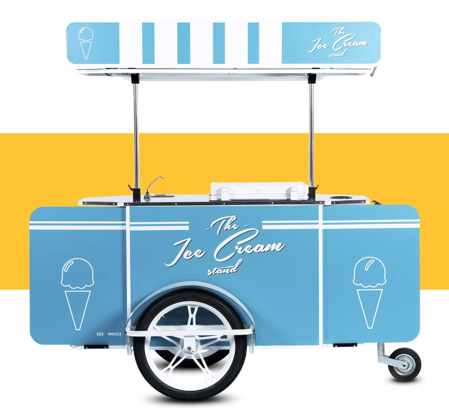 Ice Cream Cart for sale by Bizz On Wheels
