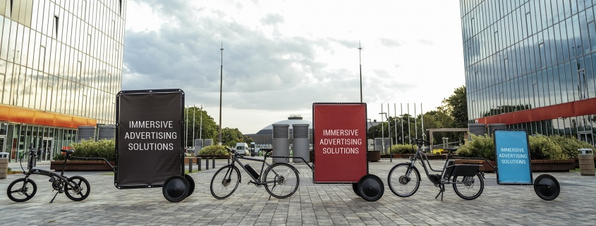 AdBicy mobile billboards and adbikes for sale