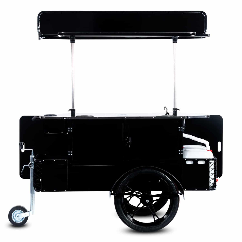 BizzOnWheels basic coffee cart vendor side
