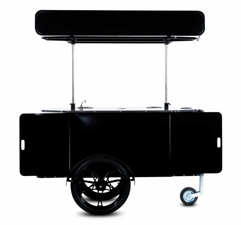 BizzOnWheels basic coffee cart front view