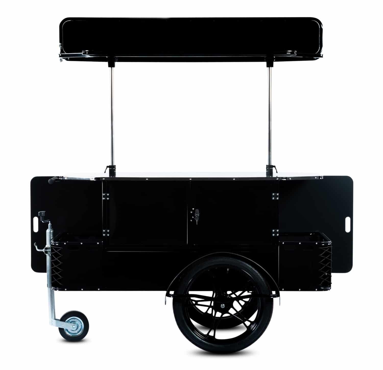 Basic vending cart vendor side