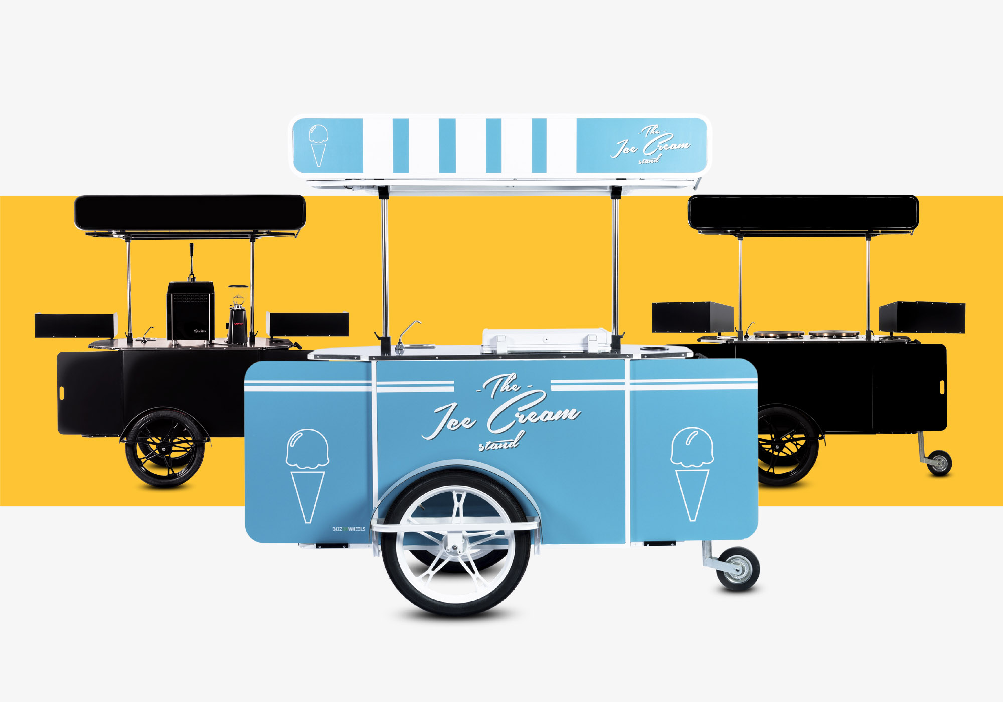 Food carts for sale by Bizz On Wheels