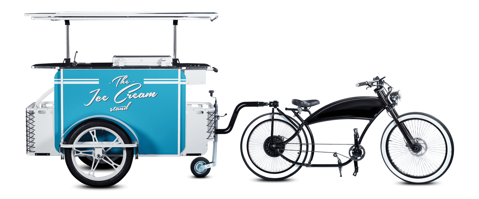 Ice cream bike by Bizz On Wheels