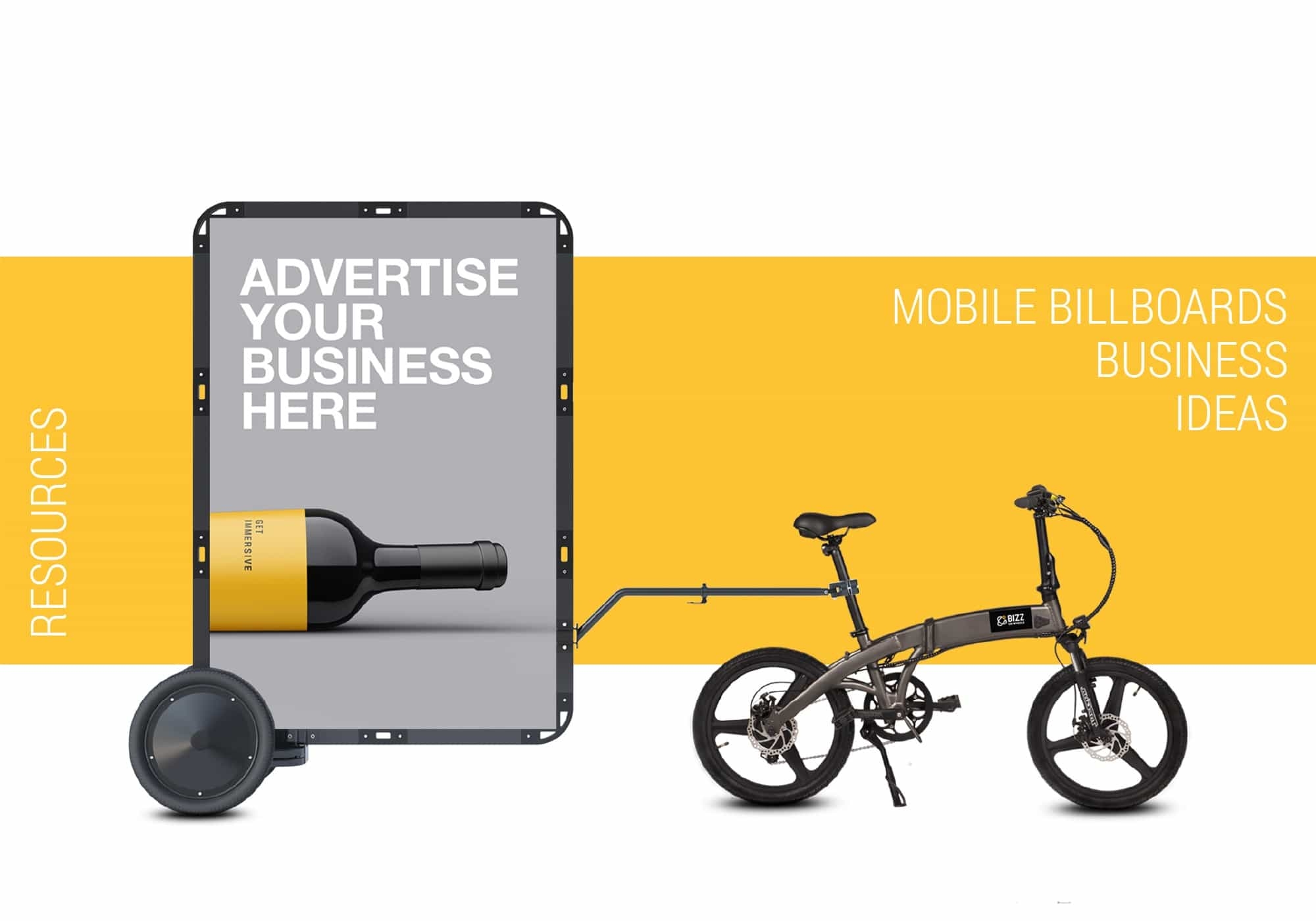 BizzOnWheels mobile billboards business ideas