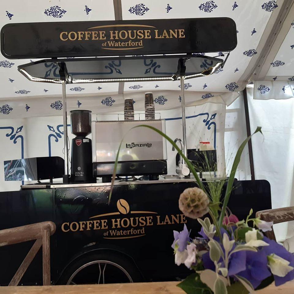 Bizz On Wheels coffee cart made for Coffee House Lane