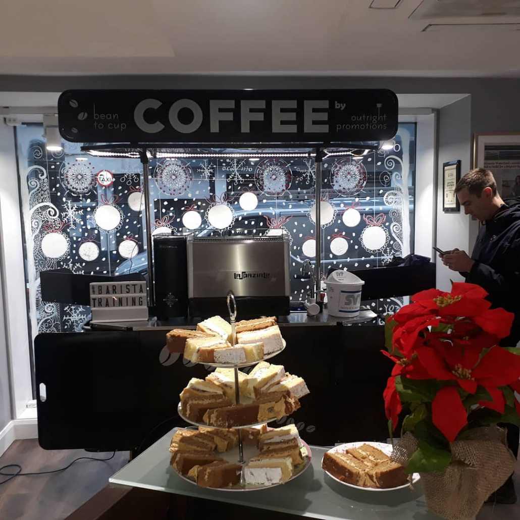 Basic coffee cart by Bizz On Wheels for Outright Promotions
