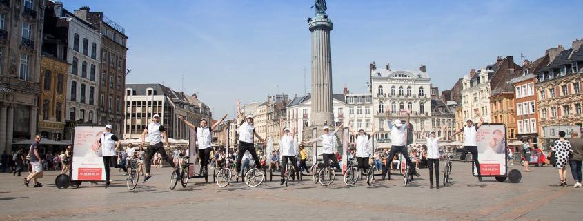 AdBicy bicycle advertising billboards fleet