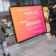 Adbicy L mobile billboard adwalker kit for outdoor advertising