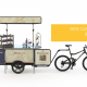 Wine cart and wine bike business Bizz On Wheels
