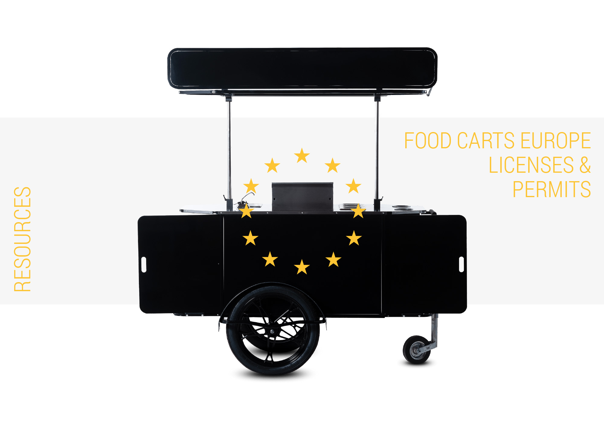 Food carts Europe licenses and permits