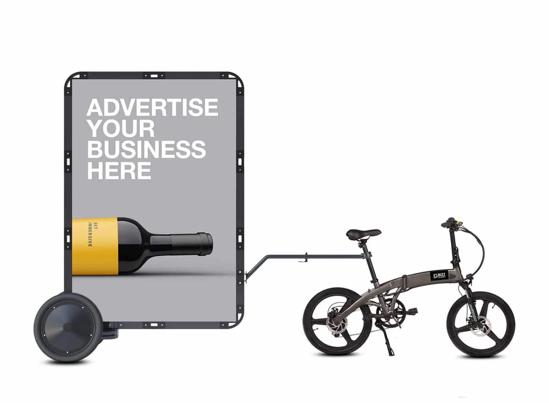 AdBicy L mobile billboards for sale