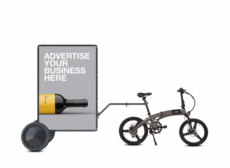 AdBicy M mobile billboards for sale