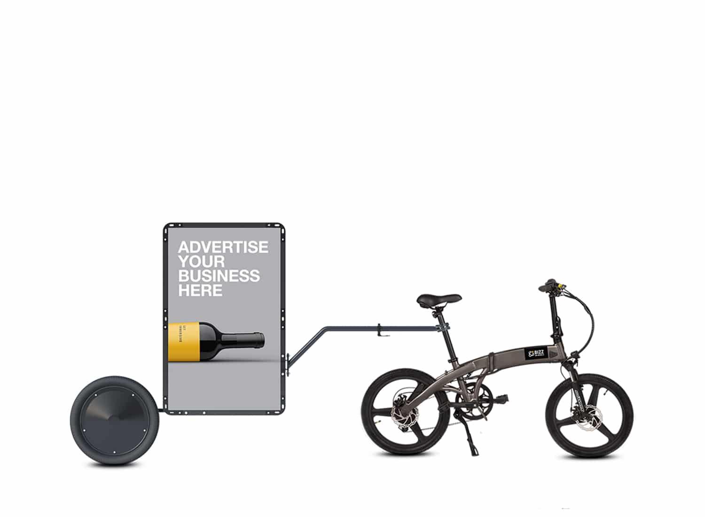 AdBicy S mobile billboard for sale