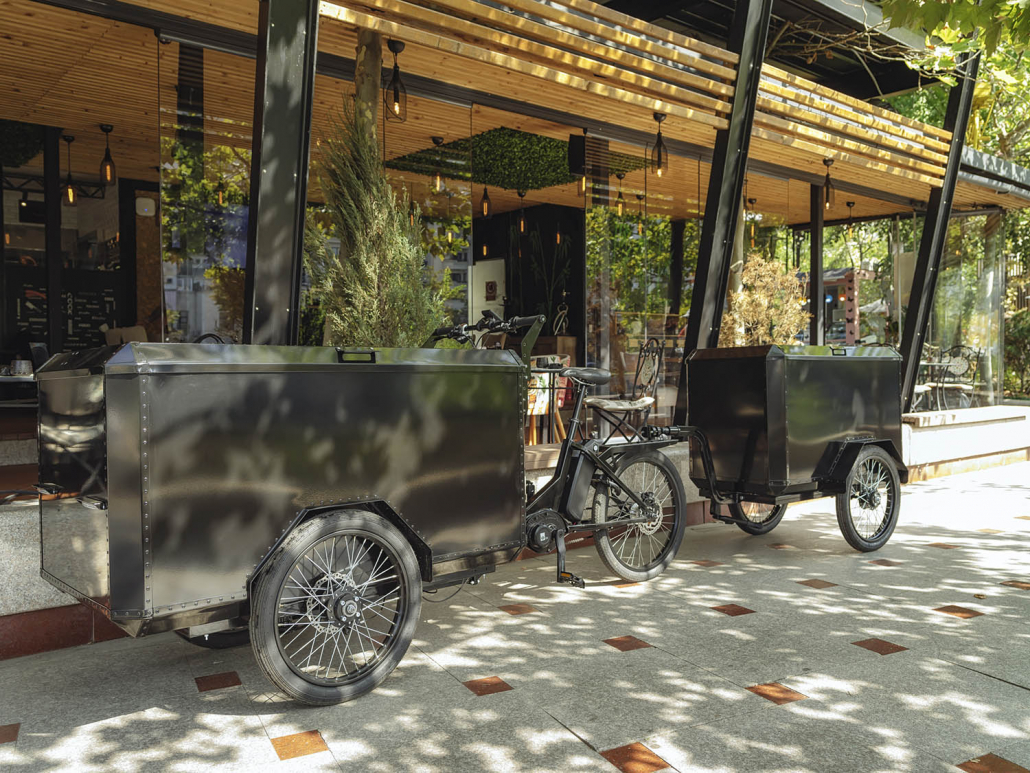 Electric Cargo Bike TR01 with detachable trailer